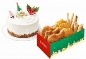 クリスマスケーキ、チキン