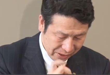米山隆一新潟県知事(50)の涙の意味